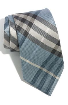 Free shipping and returns on Burberry London 'Regent' Woven Silk Tie at Nordstrom.com. A modern check design patterns an Italian-crafted tie.