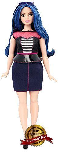 Barbie Fashionistas Doll 27 Sweetheart Stripes - Curvy  #Barbie
