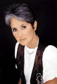 Joan Chandos Baez was born in 1941 on Staten Island, New York. From her Scottish mother, Joan Bridge, and her Mexican father, Albert Baez, she inherited a rich multiethnic tradition. She also inherited their nonviolent Quaker religious beliefs, which would eventually inspire her own interests in peace and justice. Baez's father was a physicist who once turned down a high-paying job developing war weapons because of his moral concerns. Staten Island New York, New York One, Joan Baez, People Of Interest, British Invasion, Willie Nelson, Physicist, Religious Icons, Inspiring People
