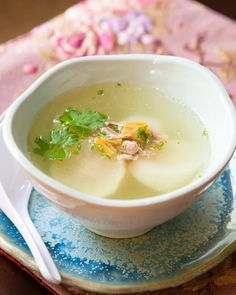 Learn to make this Chinese Daikon Soup recipe - plus Mom