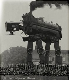 Brunel's Imperial Walker: A rarely seen Victorian Imperial Walker which was most likely made by Isembard Kingdom Brunel.
