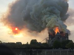 Notre Dame cathedral, Paris' famed church, was ablaze on Monday, with its iconic spire tumbling in the flames. Here are 5 facts about the cathedral. Jesus Crown, United Nations Human Rights, French Days, Saint Chapelle, Parvis, Ile Saint Louis, I Love Paris, French Revolution, Pilgrimage