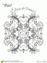 mandala de la paix amour