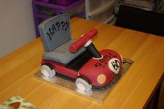 Cake made for a customers father in law who was turning 90th Birthday Cakes, Moped Scooter, Vespa, Honda 125, Electric Scooter, Diy Clay, How To Make Cake, 3d Printing, Cake Decorating