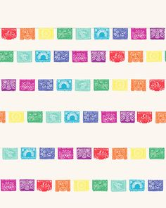 Fine Art Print  Papel Picado  May 3 2012 by joreyhurley on Etsy, $80.00