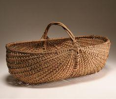 antique baskets | June Art & Antiques Auction | Antique Helper