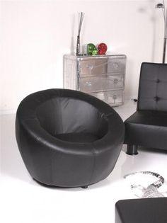 Der Ballchair New Loft ist flexibel einsetzbar. Sowohl in Emfangs- und Wartebereichen wie auch Zuhause im Wohnzimmer beschert der Sessel im exklusiven Design gemütliche Relaxmomente.