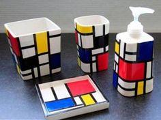 estilo de Piet Mondrian
