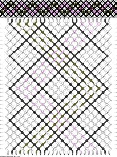 Friendship bracelet pattern 47859 26/4 new