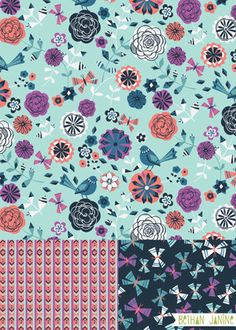 Pattern SUMMER TIME FLORAL