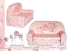 Dětská molitanová pohovka SOFA rozkládací TEX 2/medvídek růžový Baby Room, Armchair, Room Ideas, Furniture, Home Decor, Sofa Chair, Single Sofa, Decoration Home, Room Decor