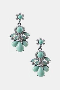 Marble Teardrops Earrings