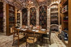 Wine Storage - The estate comes with a working vineyard that produces six types of wine. Also included: two storage facilities, one for 3,000 bottles, the other for an additional 10,000 bottles plus barrels.