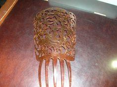 Antique Mantilla Spanish Hair Comb Dancing Couple Tortoise Unique RARE | eBay