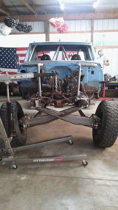 "1968 C30 ""Papa Smurf"" prerunner build links, beams, and turbo ls"