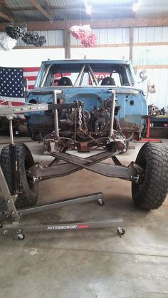 "1968 C30 ""Papa Smurf"" prerunner build links, beams, and turbo ls"