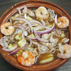 comidas+de+pascua+del+estado+sinaloa | Camarones al aguachile » Preparando los camarones al aguachile