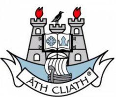 DUBLIN GAA FOOTBALL AND HURLING CREST