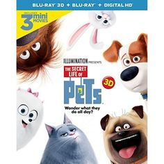 The Secret Life of Pets (Blu-ray + DVD + Digital HD)