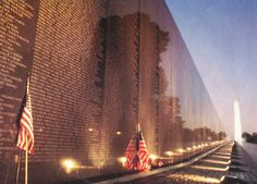 Vietnam War Veterans Memorial; the wall; Washington D.C.