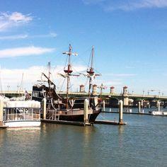 Pirate ship. St Augustine, Fl