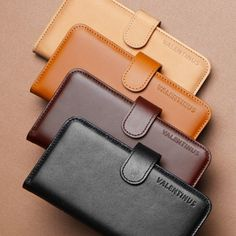 The iPhone 5 Leather Wallet Case Valentinus combines the properties of both a sturdy case and a luxurious wallet. It's the perfect case for organizing your Iphone 5 Cases, Mobile Phone Cases, Iphone Wallet, Iphone 5s, Apple Iphone, Edc, Macbook Accessories, Geek Gadgets, Best Iphone