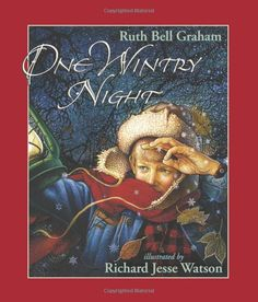 my favorite Christmas book: One Wintry Night by Ruth Bell Graham, with beautiful illustrations by Richard Jesse Watson. great telling of the Christmas story, from creation to resurrection. The pictures are actually my favorite part.