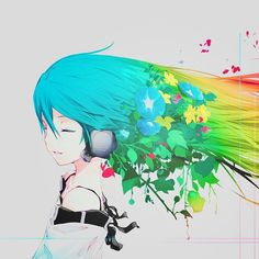 Dreamscape - Hatsune Miku this is what it feels like to listen to music when I walk