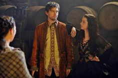 Reign - Behind the scenes with Bash (Torrance Coombs) and Mary (Adelaide Kane)