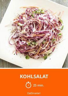 Mein Lieblingsrezept für Kohlsalat | http://eatsmarter.de/rezepte/kohlsalat