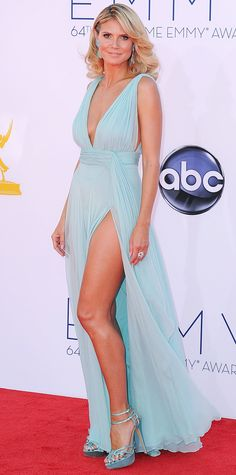 Heidi Klum's Best Red Carpet Looks Ever - In Alexandre Vauthier, 2012  - from InStyle.com