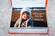 'Family & Friends' Photo Book {Awesome idea for keeping family and friends near and far close at heart for little ones!}