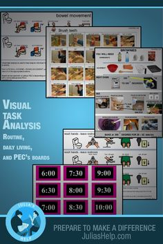 Life Skills Task Analysis For The Whole Year Each Skill Comes