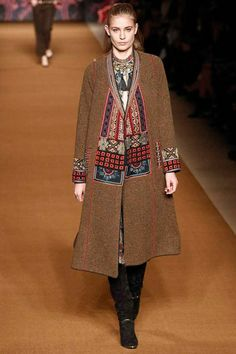 Etro fashion collection, autumn/winter 2014
