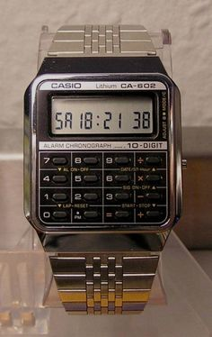 Whether it is functionality or style, Casio Watches already have it all. When you know just what you would like, a little shopping around on the net will allow you to find very good promotions. Retro Watches, Vintage Watches, Cool Watches, Watches For Men, Gadget Watches, Casio Vintage Watch, Casio Watch, Travel Design, Luxury Watches