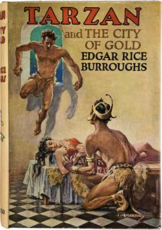 Books:Signed Editions, Edgar Rice Burroughs. Tarzan and the City of Gold. London:John Lane the Bodley Head, 1936. First British edition. ... Image #1