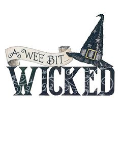Look what I found on #zulily! Halloween Wicked Witch I Wall Decal #zulilyfinds