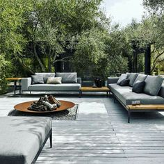 Backyard retreat.