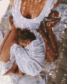 Beautiful mom and baby photo