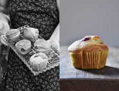 Muffins mit Weintrauben und Grappa Beschwipste Muffins mit Traubenkernöl #Muffins