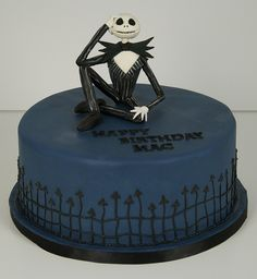 jack skellington cake toronto by www.fortheloveofcake.ca, via Flickr