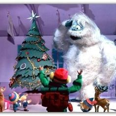 My favorite Christmas movie & character.  The snow Monster!