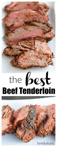 Holy Cow!!! This is the BEST Beef Tenderloin Recipe and meat rub recipe around! fantabulosity.com