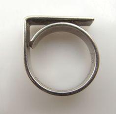 Bent Knudsen Sterling Silver Ring #EB64