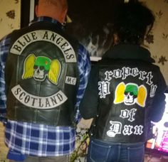 me and the wife, blue angels mc scotland