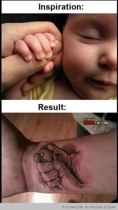 Parenting Tattoo Fail