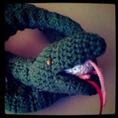#Crochet #Snake #mouse #baby #diy #toy