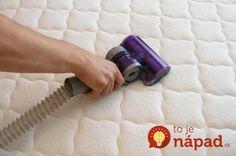 jak vyčistit matrace
