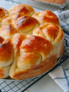 This Asian milk bread recipe is a triumph. For months, we have searched and tested finally have a perfect recipe for soft, buttery Asian bakery milk bread. Milk Bread Recipe, Bread Recipes, Chinese Bread Recipe, Round Cake Pans, Round Cakes, Wok Of Life, Funnel Cakes, Cake Flour, Bread Rolls