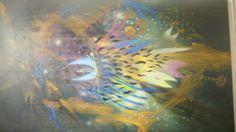 La raíz del viento. Óleo sobre lienzo. 200 x 131 cm. 2008 - 2013.
